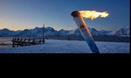 سفر 2018 کیلومتری مشعل  المپیک زمستانی 2018