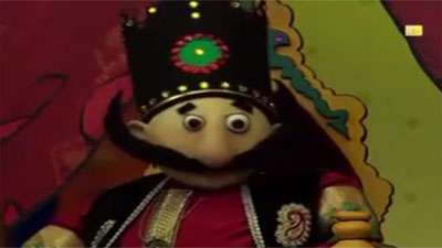 شکرستان عروسکی / پادشاه به دنبال سیاسیت خارجی