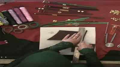 دستبند چرمی - به زبان آذری
