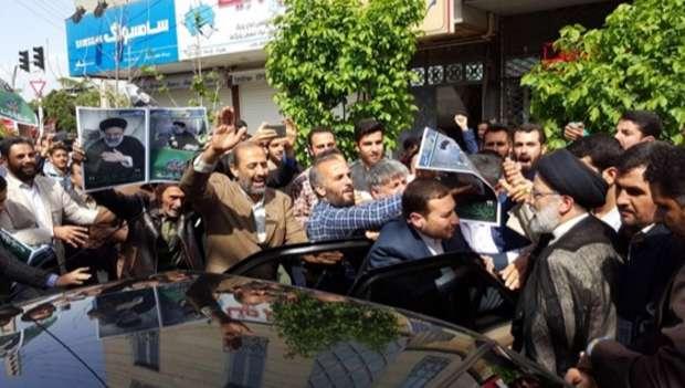 استقبال باشکوه مردم قزوین از رئیسی
