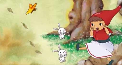 قصه کودکانه «شنل قرمزی»