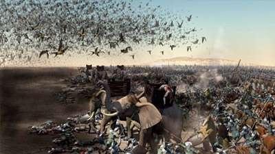 حمله ابابیل به سپاه ابرهه در فیلم محمد رسول الله