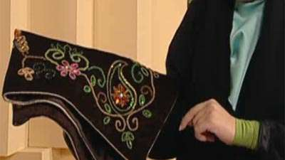 خانم بهشتی | جواهر دوزی (2)