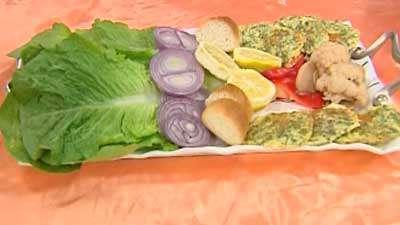پنکیک سبزی
