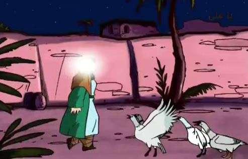انیمیشن شهادت امام علی علیه السلام