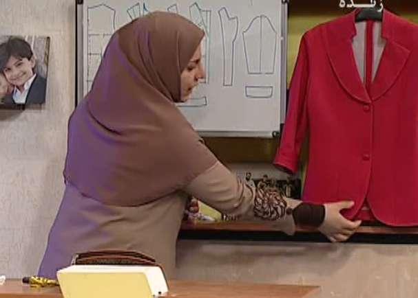 خانم جوادی | آموزش کت و یقه خاص