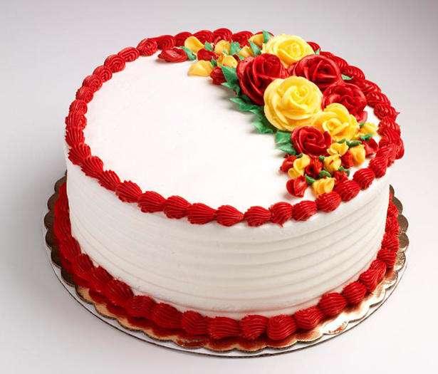 روش درست کردن «شکوفه خامه ای» برای تزئینات کیک
