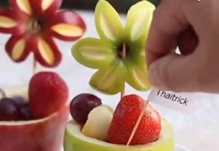 چند مدل تزئین میوه برای مهمانی ها