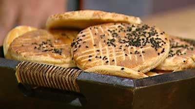 اهری - نان سنتی آذربایجان