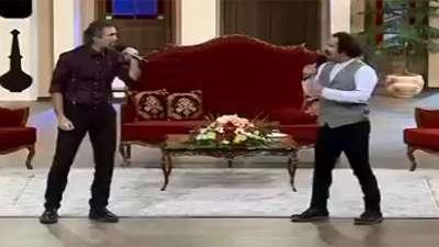 اجرای طه پارسا و میلاد باقری از گروه دنگ شو / چی زی