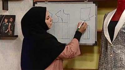 خانم جوادی   یقه آرشال(2)