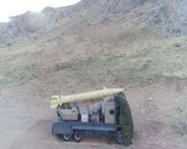 شليک موشکهای سپاه به مقر تروريستها در ديرالزور سوريه