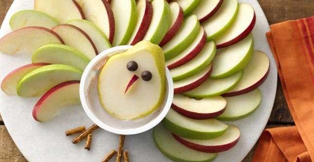 تزئیناتی که بچهها را به میوه خوردن تشویق می کند