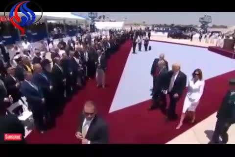 ملانیا انتقام نتانیاهو را از ترامپ گرفت!