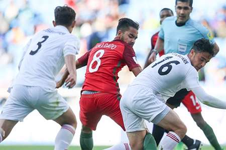 حذف تاسف بار جوانان فوتبال