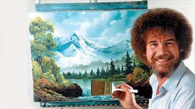 زندگی عجیب هنرمند معروف، باب راس