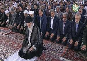 نماز عید فطر به امامت رهبر انقلاب