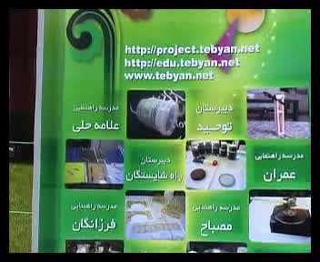 اولین جشنواره پروژه های دانش آموزی تبیان - 1