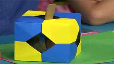 کارهای حجمی و چندبعد اوریگامی