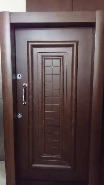 در ضد سرقت راش با ستون مربعی - آتاک درب