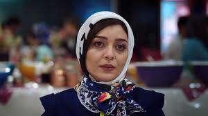 «ساره بیات» در پشت صحنه سریال «عاشقانه»
