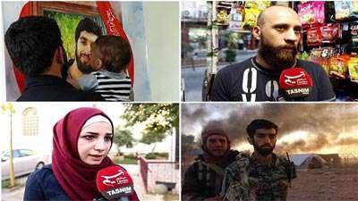 شهادت «محسن حججی» در نگاه مردم سوریه