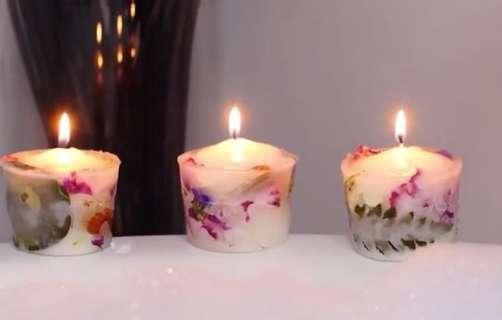 آسان ترین و خوشگل ترین مدل ساخت شمع