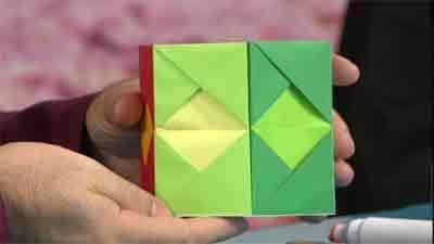 جاقلمی - اوریگامی