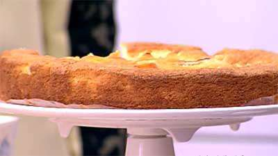کیک هلو