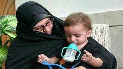 اظهارات تکان دهنده همسر شهید حججی در برنامه جهان آرا