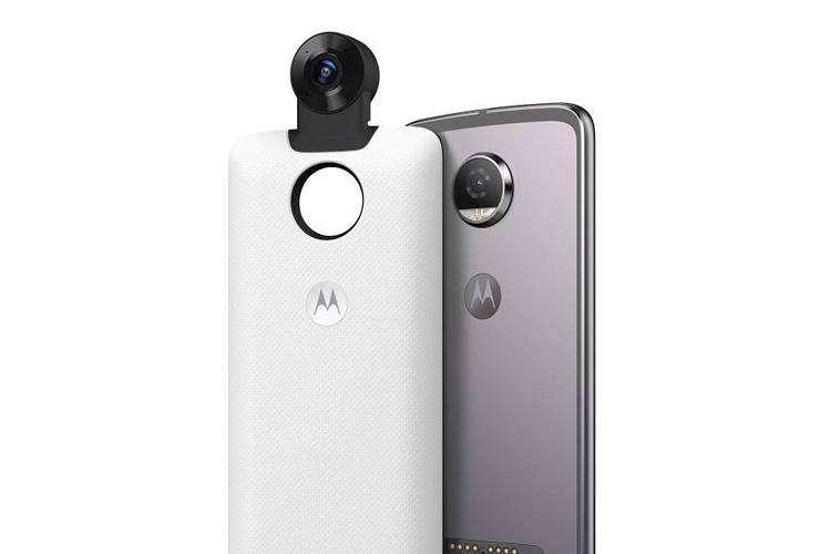 موتورولا از دوربین 360 درجه موتو رونمایی کرد