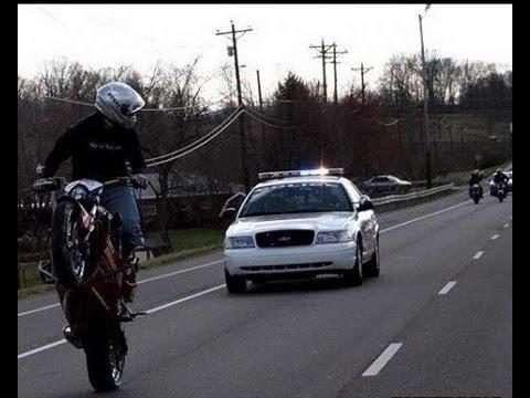 موتورسوار پررو و پلیس بیبخار