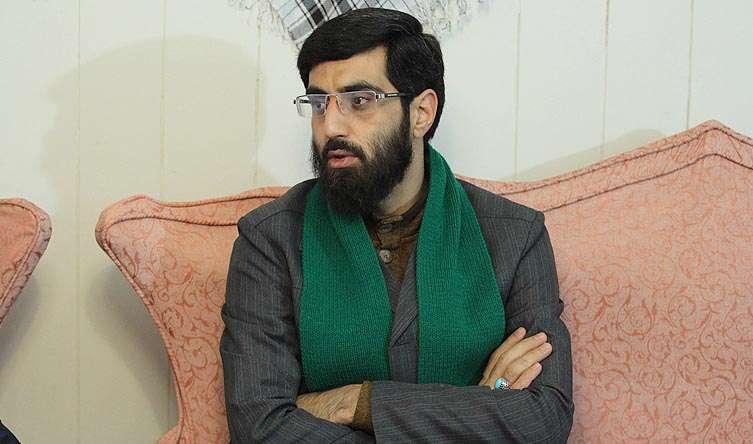 مداحی سیدرضا نریمانی در مجلس گرامیداشت شهید حججی