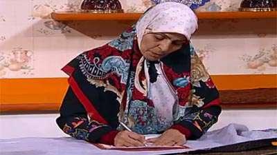 خانم سلمانیان | سرمه دوزی (1)