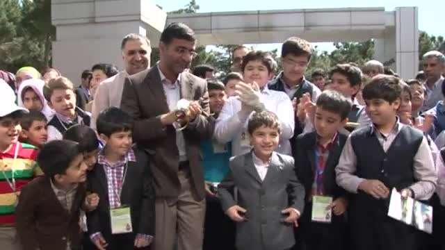 گزارش خبری نهمین جشنواره دانش آموزی تبیان