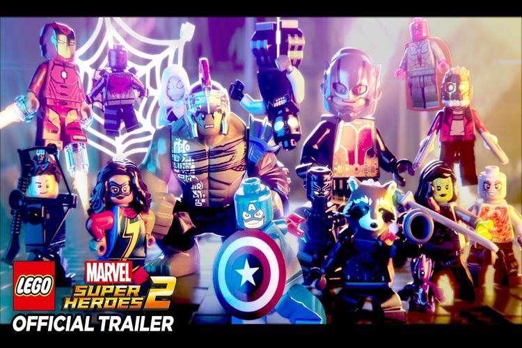 تریلر جدید بازی LEGO Marvel Super Heroes 2 شخصیت منفی آن را نشان میدهد