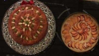 خانم کریمی   کیک شلیل ( آموزش به زبان آذری)