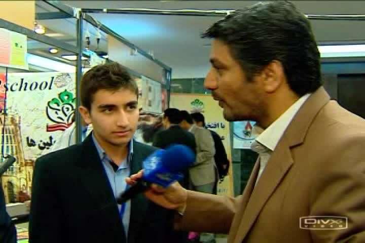 هشتمين جشنواره پروژه های دانش آموزی تبیان واحد مرکزی خبر، خبرنگار: امیر حسین ذوالفقاری