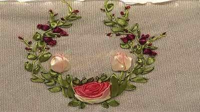 گل رز نیمه