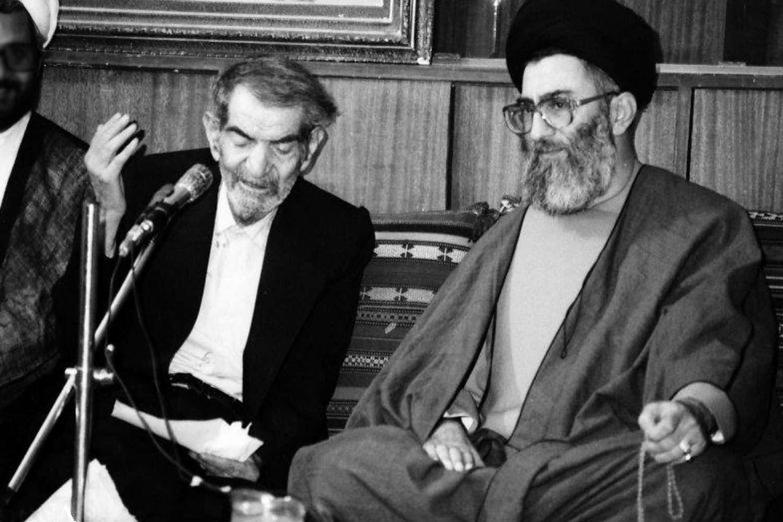 صوت/ شعر خوانی «استاد شهریار» در محضر  رهبر معظم انقلاب