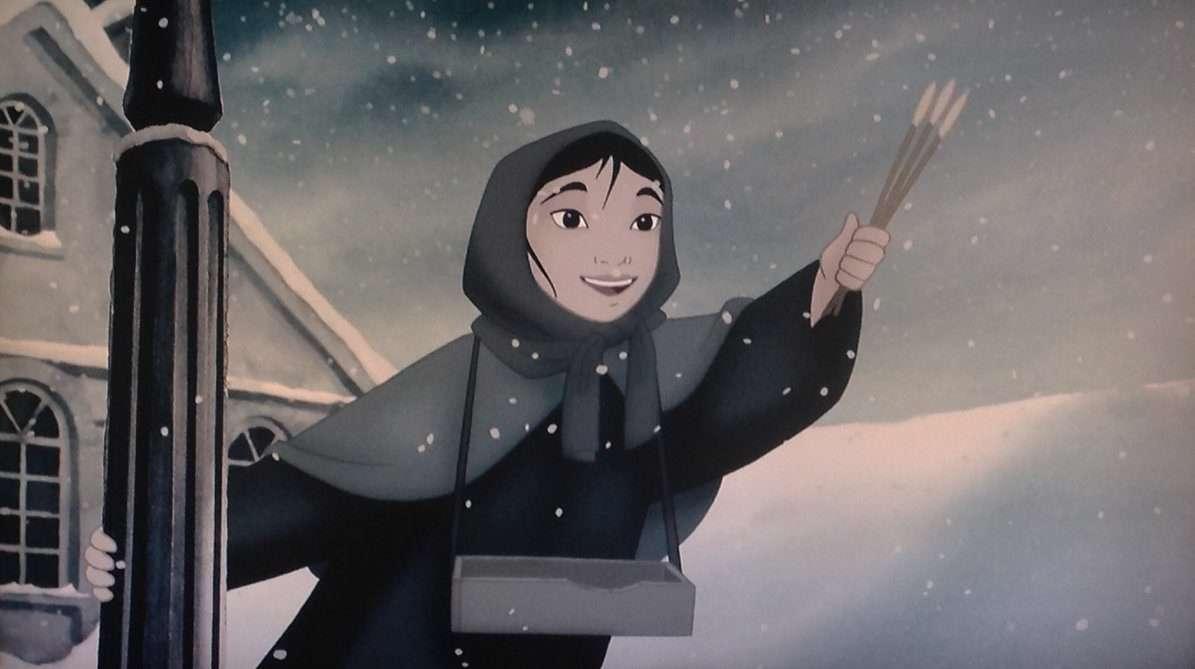 'دختر کبریت فروش ' به روایت والدیزنی