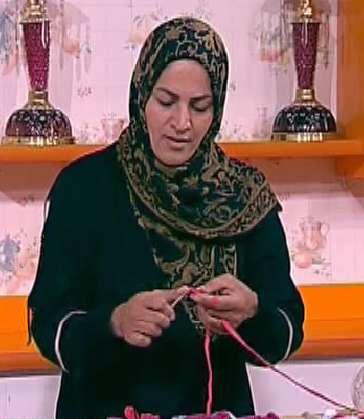 خانم احمدی | تریکوبافی(5)