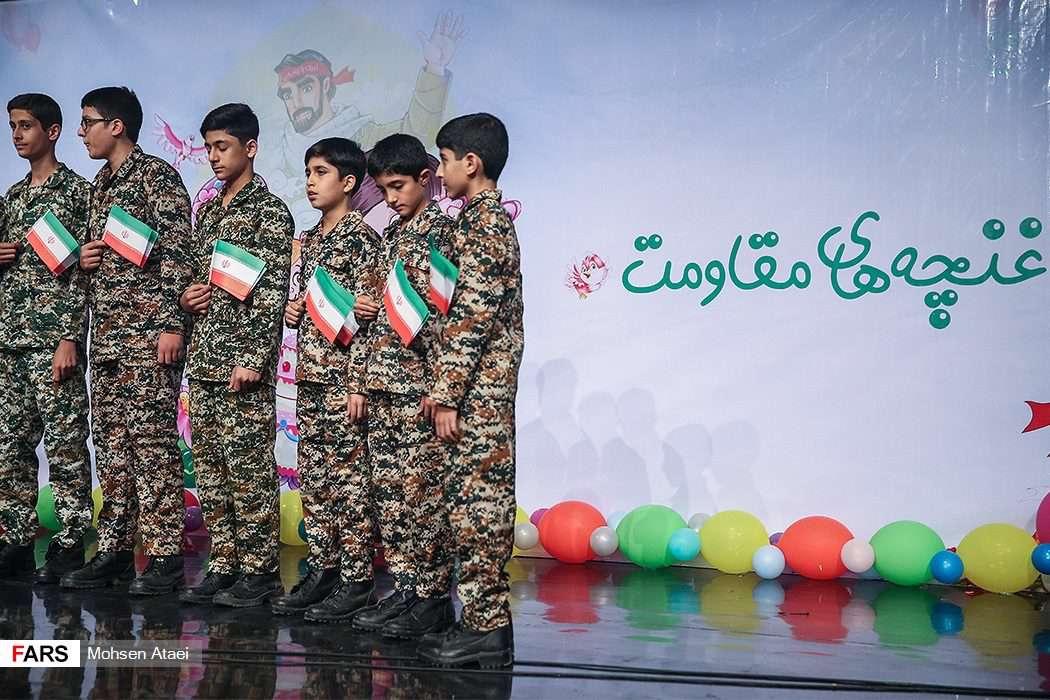 برگزاری جشن تولد برای فرزندان شهدای مدافع حرم