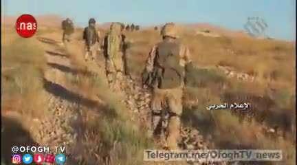 واکنش اعضای داعش بعد از اسارت