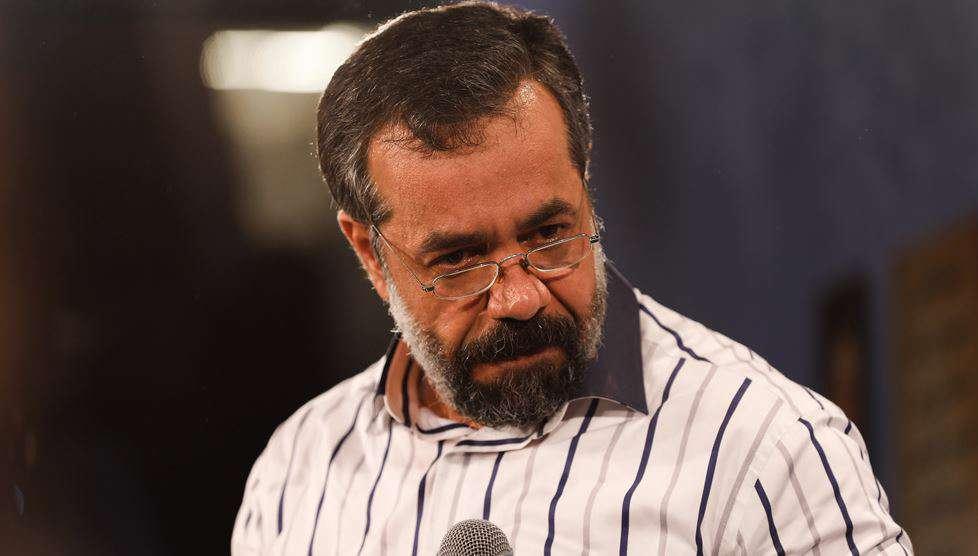 مداحی محمود کریمی درباره شهید حججی در شب عید غدیر