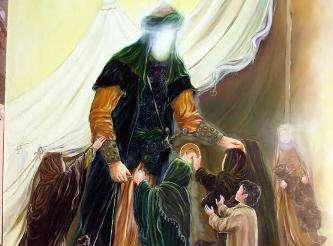 مداحی امام الهدی ای چراغ هدایت حاج امیر عباسی
