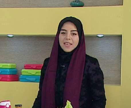 خانم موسوی | آموزش تهیه تغذیه سالم ( به زبان آذری )
