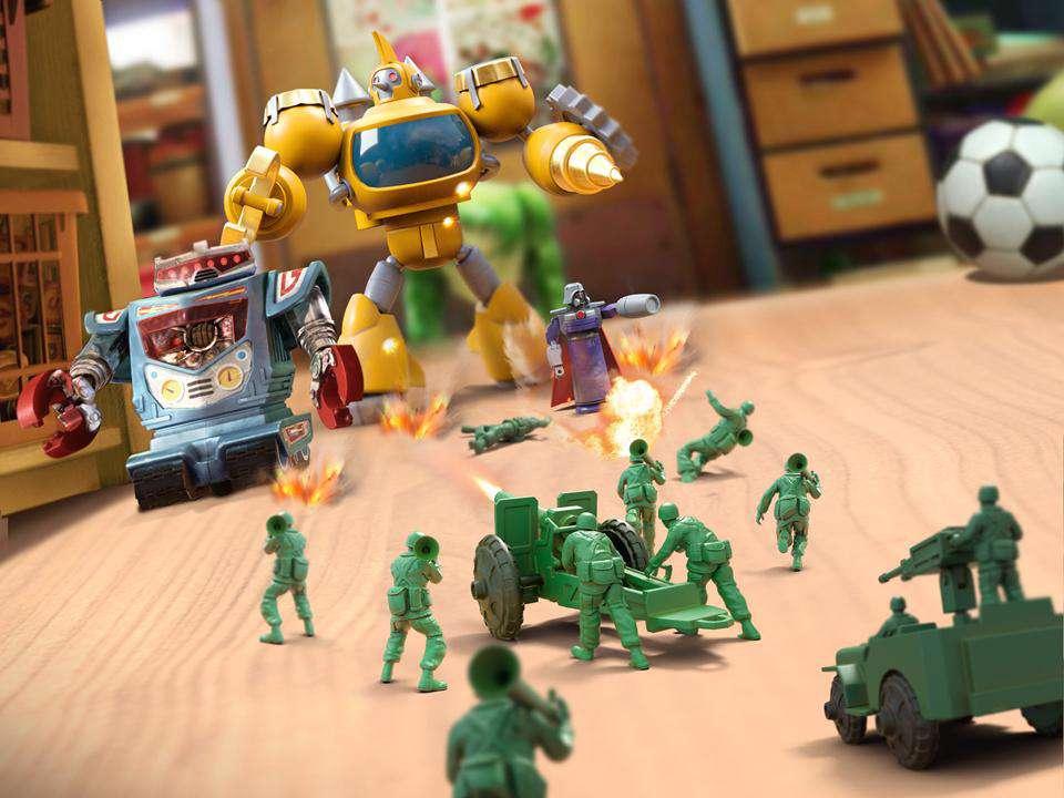 دانلود بازی استراتژیک Army Men Strike 2.38.1 برای اندروید