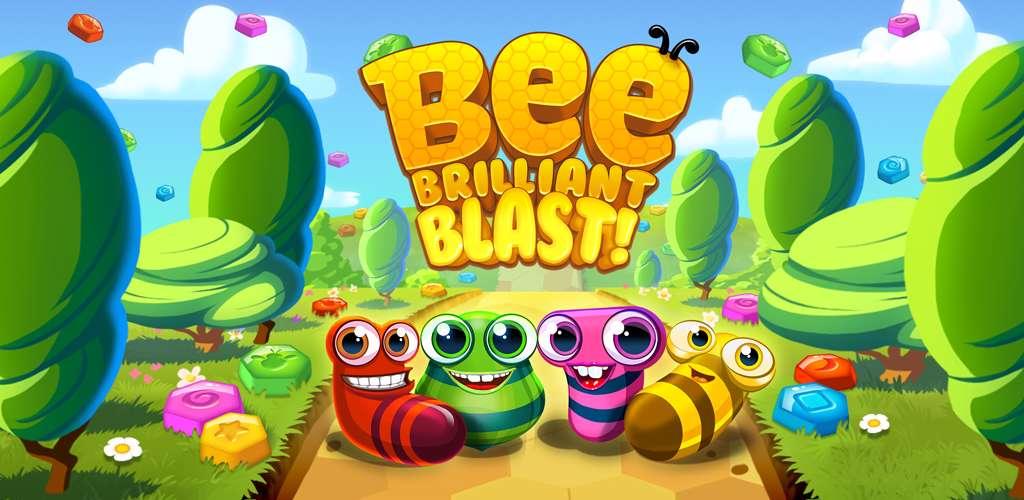دانلود بازی Bee Brilliant Blast 1.3.3 برای اندروید