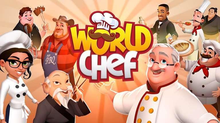 دانلود بازی سرآشپز جهانی World Chef 1.34.18 برای اندروید